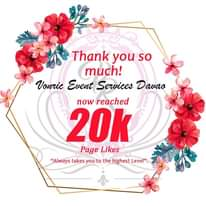Thank you 20K likes - 20K services in Davao City